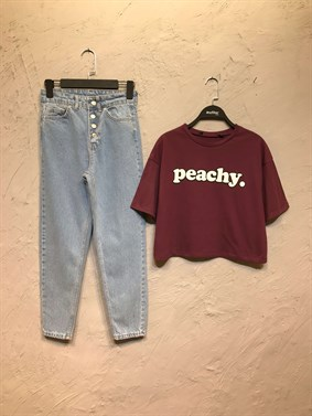 Bordo Peachy Tshirt