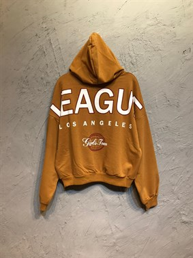 Hardal League Sırt Baskı Sweatshirt