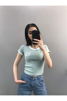 Mint Nyc Kaşkorse Crop