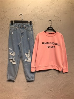 Pudra Female Equals Future Sweatshirt