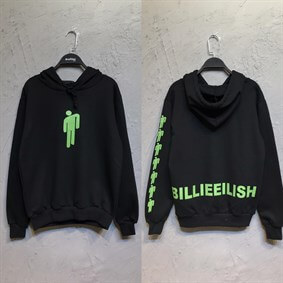 Siyah Billie Icon Sweatshirt