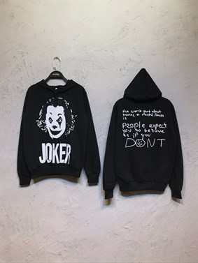 Siyah Dont Joker Sweatshirt